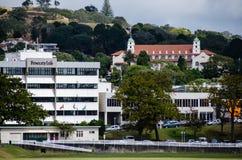 Montagem Eden e escola secundária de Auckland, Auckland, Nova Zelândia Foto de Stock Royalty Free