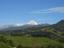 Montagem Egmont, NZ Fotografia de Stock Royalty Free