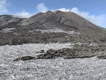 Montagem Etna imagem de stock royalty free