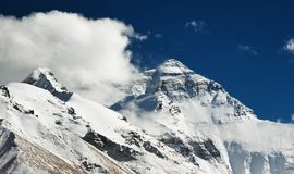 Montagem Everest fotografia de stock royalty free