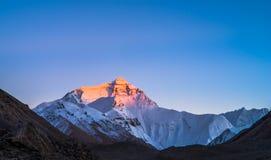 Montagem Everest foto de stock