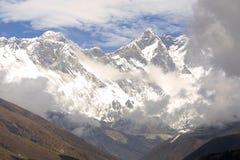 Montagem Everest 8848 M fotos de stock royalty free