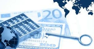 Montagem financeiro Imagens de Stock Royalty Free