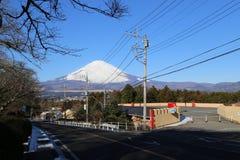 Montagem Fuji Fotos de Stock