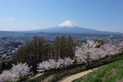 montagem Fuji, Fuji san Fotografia de Stock Royalty Free