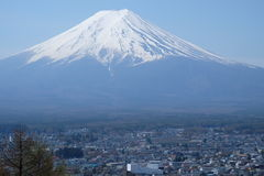 montagem Fuji, Fuji san Imagem de Stock Royalty Free
