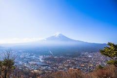 Montagem Fuji foto de stock royalty free