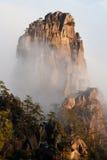 Montagem Huang, China fotografia de stock royalty free