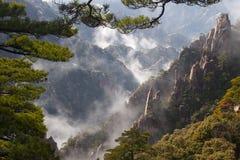 Montagem Huang, China imagens de stock