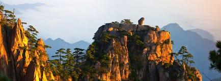 Montagem huangshan foto de stock royalty free