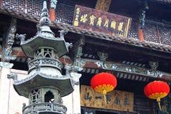 Montagem Jiuhua, Anhui, China Imagem de Stock Royalty Free