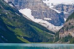 Montagem lefroy, montagem victoria, Lake Louise fotografia de stock royalty free