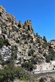 Montagem Lemmon, Tucson, o Arizona, Estados Unidos imagens de stock royalty free