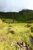Montagem Liamuiga - Saint Kitts fotos de stock
