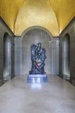 A montagem lovcen, Montenegro, Europa, mausoléu dos njegos petrovic do príncipe-bispo II petar Imagem de Stock