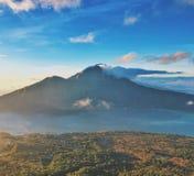Montagem magnífica Abang da montagem Batur Imagem de Stock