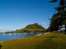 Montagem Maunganui, Nova Zelândia. fotografia de stock royalty free