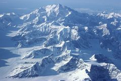 Montagem McKinley Alaska Imagem de Stock