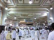 Montagem muçulmana de Safa do alcance dos peregrinos da montagem de Marwah Imagens de Stock