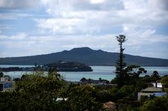 Montagem Rangitoto, Auckland, Nova Zelândia Imagem de Stock Royalty Free