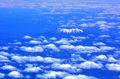 Montagem Ruapehu - Nova Zelândia Fotografia de Stock