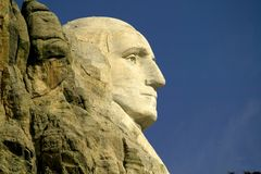 Montagem Rushmore Monumet nacional, o Black Hills, South Dakota. Imagem de Stock Royalty Free