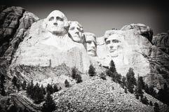 Montagem Rushmore Sideview Imagens de Stock