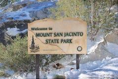Montagem San Jacinto Imagens de Stock Royalty Free
