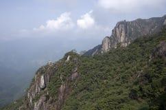 Montagem Sanqing, Sanqingshan, Jiangxi China Imagem de Stock Royalty Free
