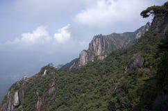 Montagem Sanqing, Sanqingshan, Jiangxi China Imagem de Stock