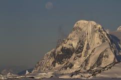 Montagem Scott na península antártica Imagem de Stock