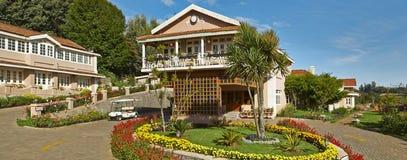Montagem Serene Munnar Resort In Kerala de Mahindra do clube imagens de stock