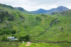 Montagem Snowdon, Snowdonia, Wales Fotografia de Stock