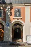Montagem St Anna, Polônia - 7 de julho de 2016: Papa St John Paul dos braços mim foto de stock royalty free