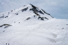 Montagem Tateyama - Japão alpinos Imagens de Stock