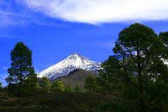 Montagem Teide em Tenerife Imagens de Stock Royalty Free