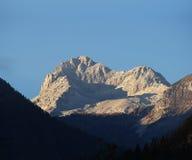 Montagem Triglav no parque nacional esloveno Fotografia de Stock Royalty Free