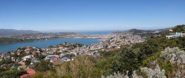 A montagem Victoria Lookout, Wellington fotos de stock
