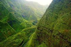 Montagem Waialeale, Kauai, Havaí Imagens de Stock