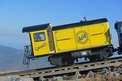 Montagem Washington Cog Railroad, New Hampshire imagem de stock royalty free