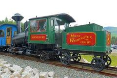 Montagem Washington Cog Railroad, New Hampshire imagens de stock royalty free