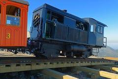 Montagem Washington Cog Railroad, New Hampshire fotos de stock royalty free