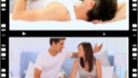 Montaggio degli amanti felici archivi video