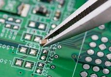 Montaggio del circuito Fotografie Stock