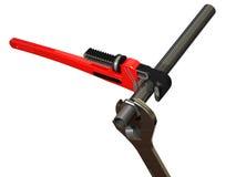 montaggio del tubo 3D Fotografie Stock