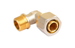 Montaggio dell'impianto idraulico fotografia stock