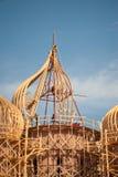 Montaggio della chiesa della cupola immagini stock libere da diritti
