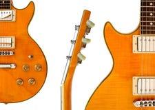 Montaggio della chitarra elettrica Fotografia Stock