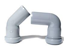 Montaggio di plastica angolare due Fotografia Stock