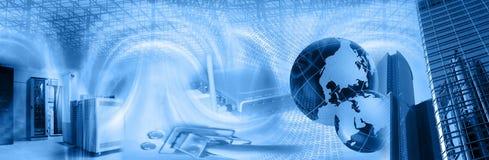 Montaggio di tecnologia wireless Immagine Stock Libera da Diritti